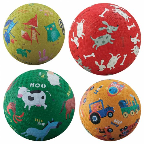 Playground Balls (Set of 4)
