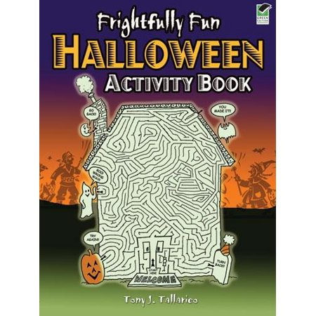 Dover Children's Activity Books: Frightfully Fun Halloween Activity Book - Fun Activities For Halloween Adults