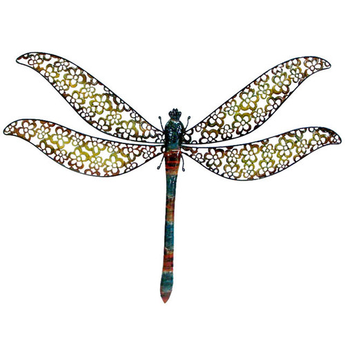 Cheungs Metal Dragonfly Wall D cor