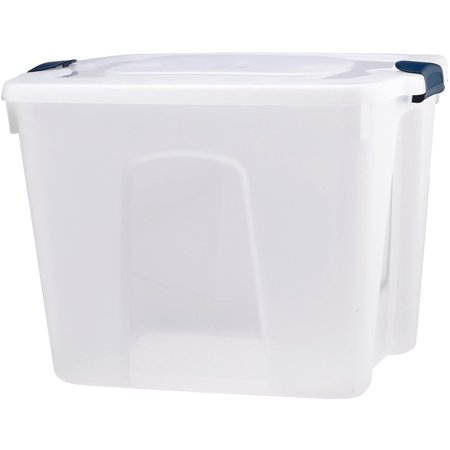 Homz Products/Storage 20 Gallon Storage Tote 8520CL.08