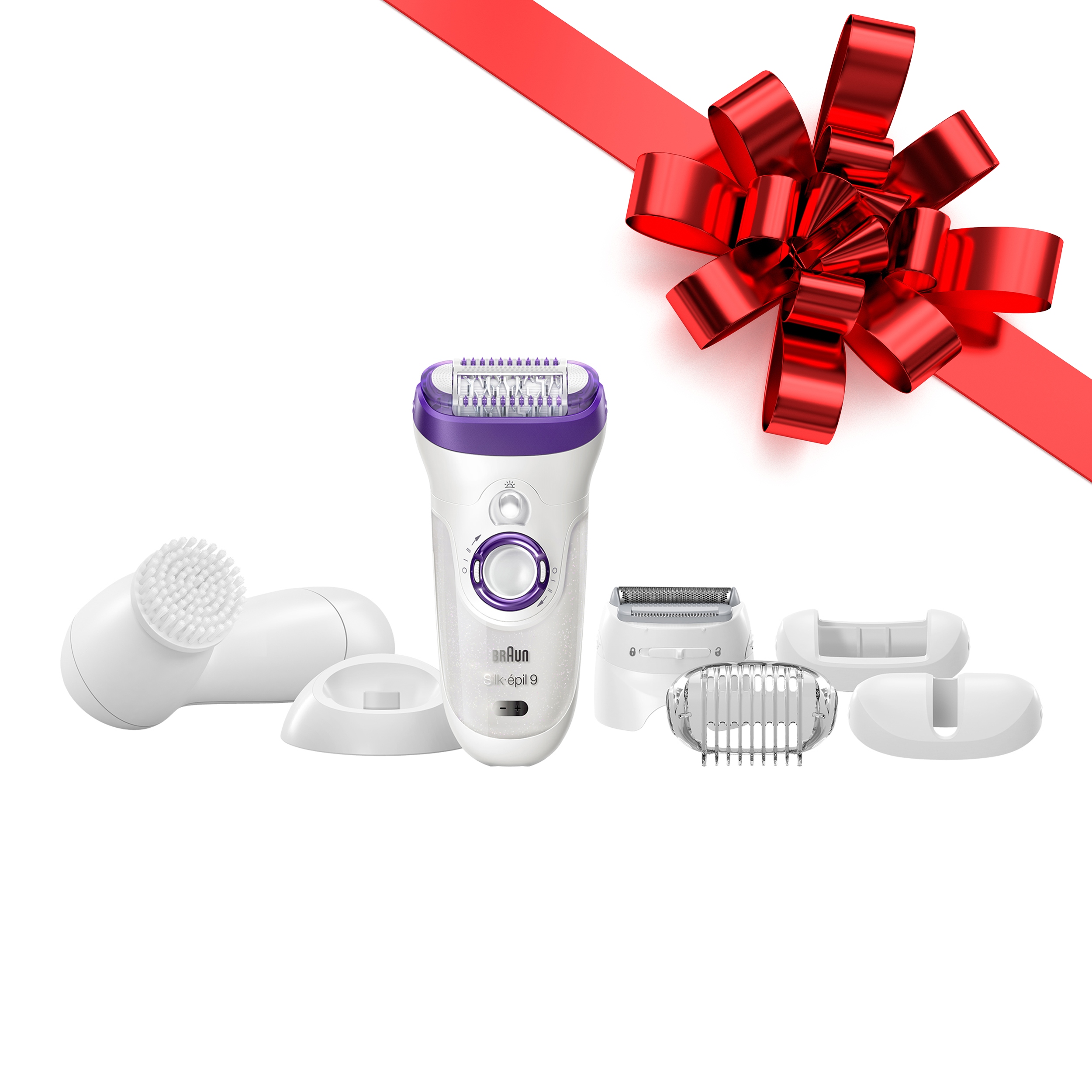 Braun Silk-epil 9 9-579 ($40 in Rebates Available) - Wet & Dry Cordless Epilator / Epilation + 7 extras