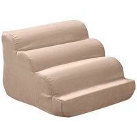 ODonnell Industries Snoozer Scalloped Luxury Microsuede Dog Stairs