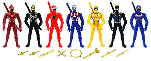 Universal Hero Rangers Children Kid's Toy Action Figure Playset w  7 Figures, Battle... by Velocity Toys