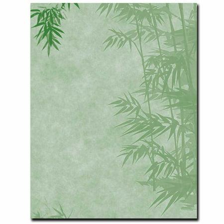 Bamboo Paper (Simple Bamboo Letterhead & Printer)