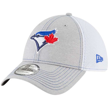 66e6cfd047b8 Toronto Blue Jays New Era Classic Shade Neo 39THIRTY Flex Hat - Gray -  Walmart.com