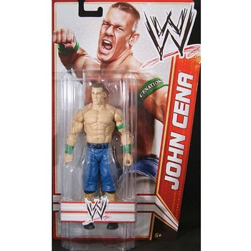 WWE Wrestling Signature Series 2012 John Cena Action Figure [Tall Package] by