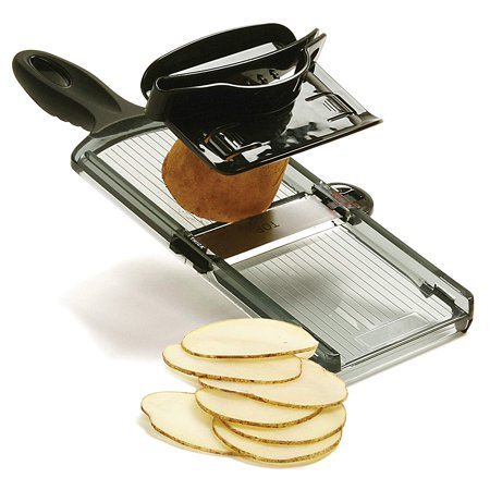 - Black Dual Thickness Manual Mandoline Slicer, Black By Norpro