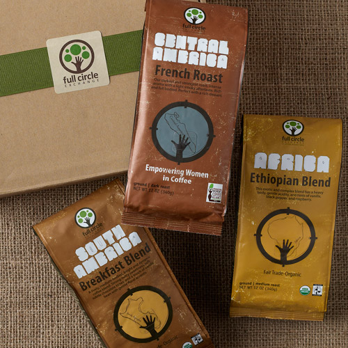 Full Circle Exchange Coffee Sampler Gift Box