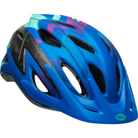 Bell Escape Bike Helmet, Blue Chevron Arrow, Youth 8+ -