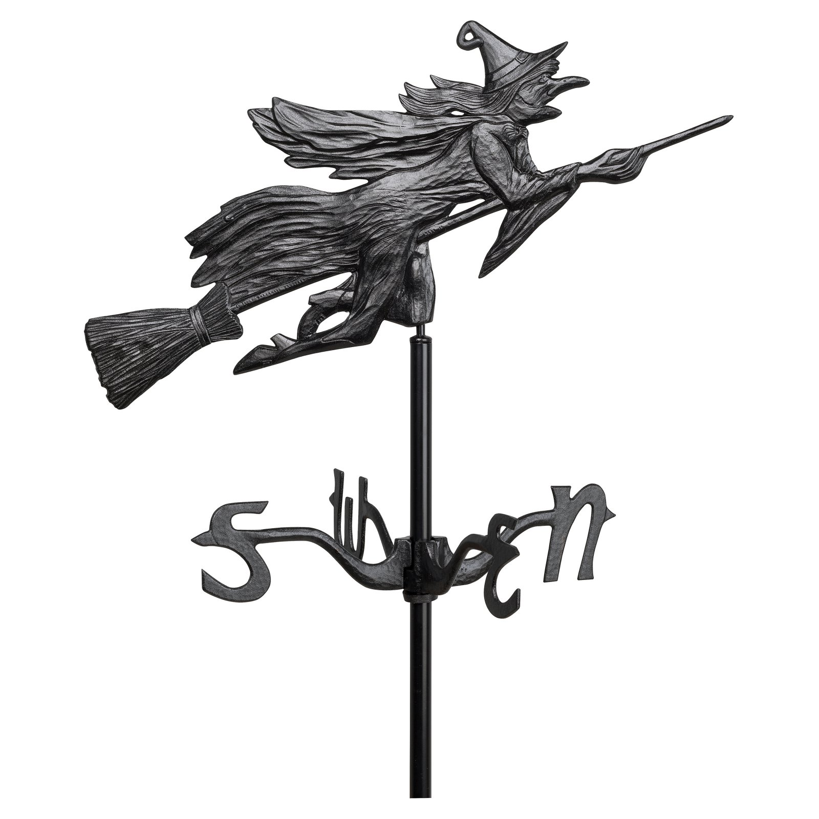 Whitehall Flying Witch Garden Weathervane by Whitehall Products LLC
