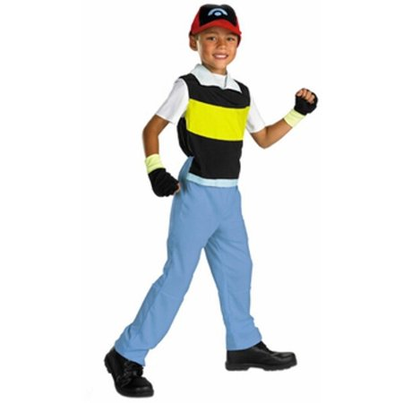 Child's Pokemon Ash Costume - Ash Female Cosplay