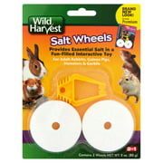(3 Pack) Wild Harvest Salt Wheels for Rabbits, Guinea Pigs, Hamsters & Gerbils