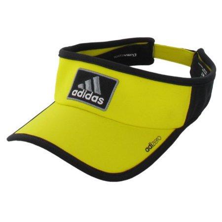 adidas Men's Adizero Visor, Vivid Yellow/Black, One Size Fits All