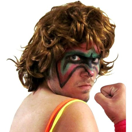 Extreme Warrior Wrestling Costume Wig