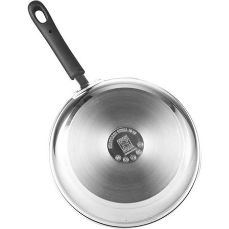 Cook N Home 10-Piece Stainless Steel Cookware Set with Encapsulated Bottom