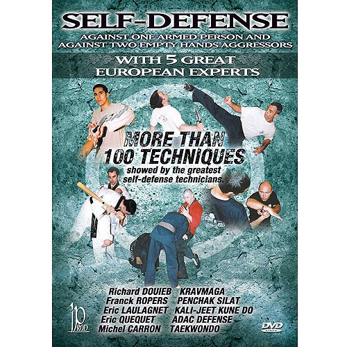 Self-Defense Against One Armed Person & Against Two Empty Handed Aggressors