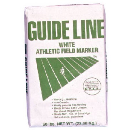 Guideline 54051100 Athletic Field Marking Lime 50 lb, White