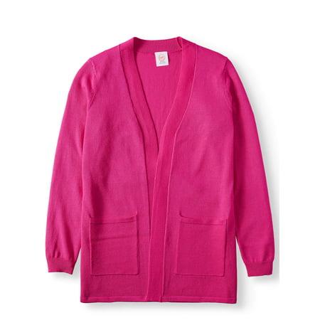 Wonder Nation Long Open Cardigan Sweater (Little Girls, Big Girls & Plus) ()