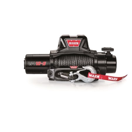 Warn 97035 Standard Duty Winch; VR12 S; 12000 lb. Pulling Capacity; Incl. 90 ft. of 3/8 in. Synthetic