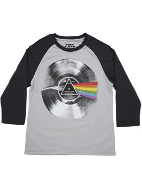 79f7f895 Product Image Pink Floyd The Dark Side of the Moon 3/4 Sleeve Raglan 2 Tone  Adult