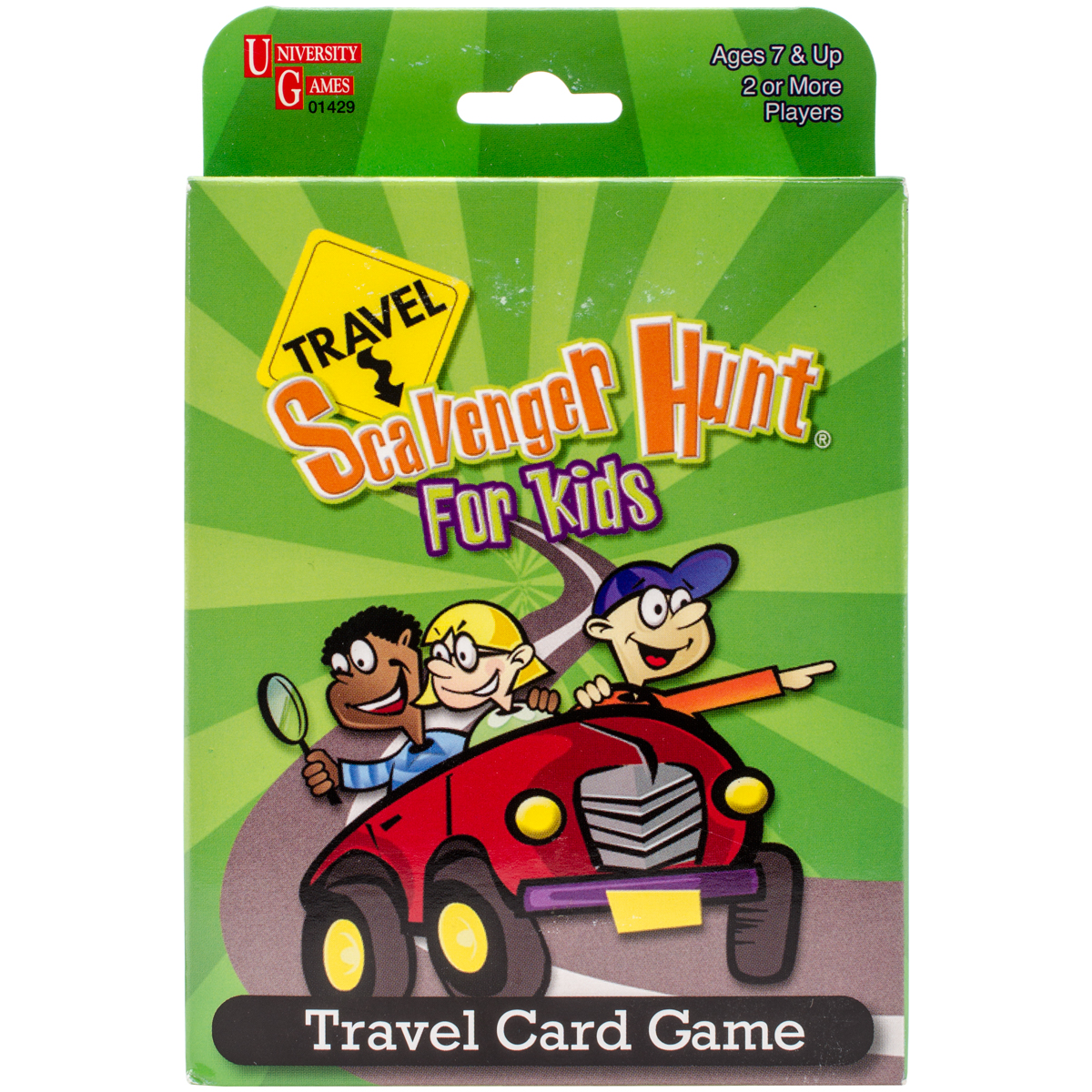 My First Travel Scavenger Hunt Card Game-