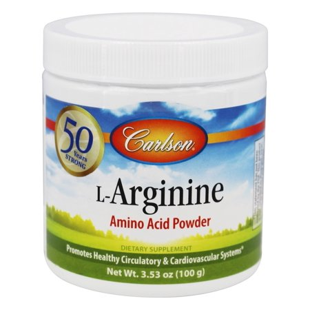 Carlson Labs - L-Arginine Amino Acid Powder 3000 mg. - 100