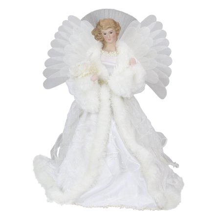Northlight 13 in. Fiber Optic Angel Christmas Tree Topper ()
