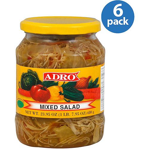 Image of Adro Mixed Salad, 23.5 oz (Pack of 6)