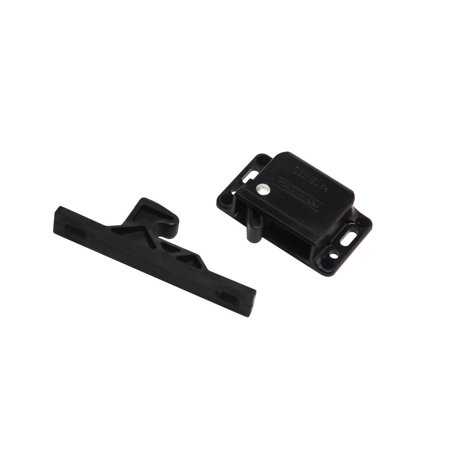 Rv Designer H316 Black Push Latch 10 Lb For Pantry And Other