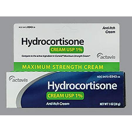 Image of Actavis Hydrocortisone Cream 1% Maximum Strength - 1 oz
