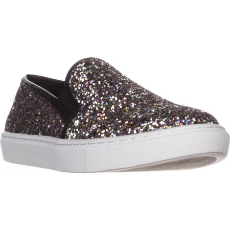 Womens Steve Madden Ecentrcq Quilted Fashion Sneakers, Glitter Multi