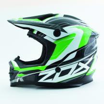 Zox Rush Pulse MX Offroad Helmet Green XS
