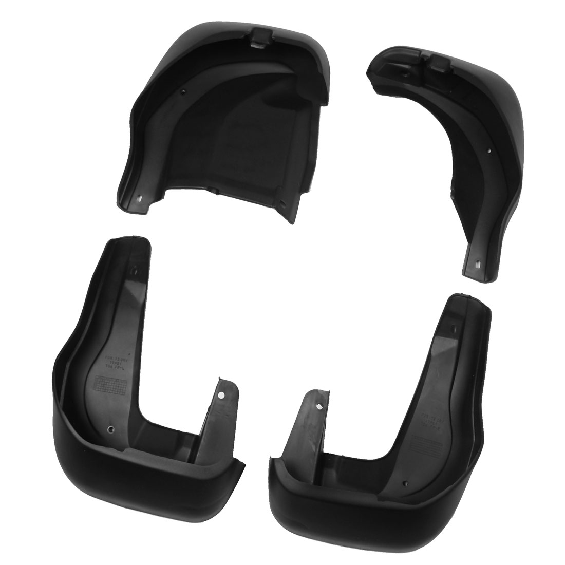 Mudguard Splash Guards Mud Flaps Front + Rear Set for 2012-2013 CRV