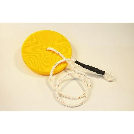 Slackers Zip Line (ZLP Manufacturing ZLPDISK Zip Line Yellow Disk Seat w/)