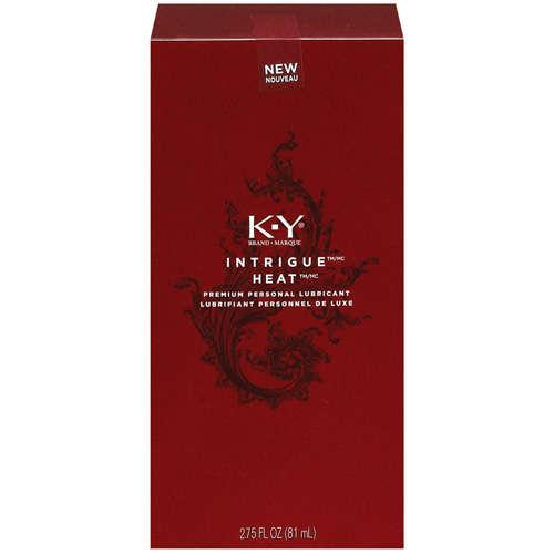 K-Y Intrigue Heat Personal Lubricant - 2.75 fl oz