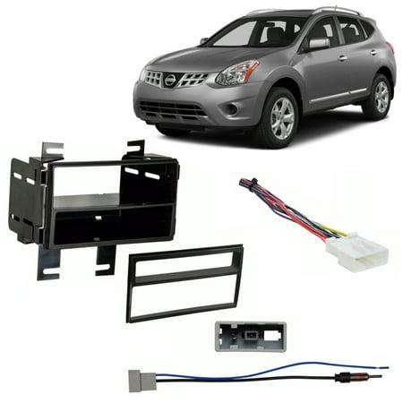 Fits Nissan Rogue Select 2014 Multi DIN Stereo Harness Radio Install on nissan body harness, nissan radio harness, nissan timing chain, nissan brakes, nissan alternator, nissan speedometer, nissan fuse, nissan timing belt, nissan exhaust, nissan starter, nissan lights, nissan headlights, nissan fuel pump, nissan ecu, nissan transformer, nissan oil filter, nissan radiator, nissan throttle body, nissan water pump, nissan engine,