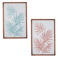 Fronds Wall Art, Set of 2, by Drew Barrymore Flower Home