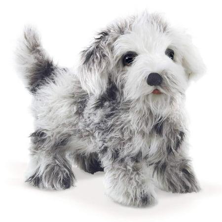 Hand Puppet - Folkmanis - Shih Tzu Puppy New Toys Soft Doll Plush 3143 Stuffed Shih Tzu
