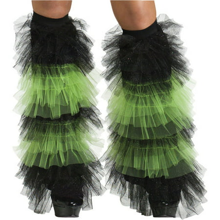 Ruffle Tulle Boot Covers Adult Halloween