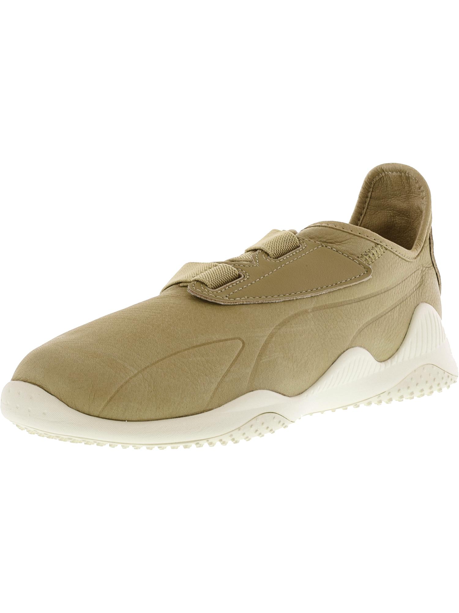 Puma Men's Mostro Premium Safari / Whisper White Ankle-High Fashion Sneaker - 12M