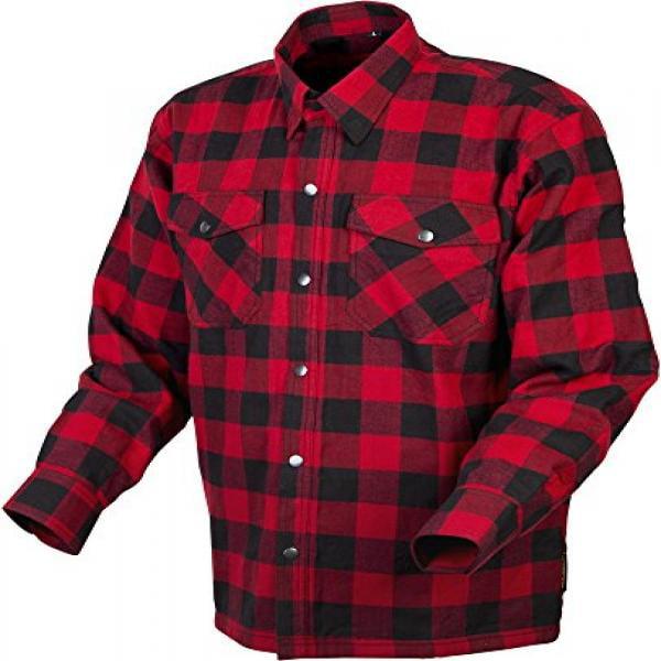 Scorpion EXO Men's Covert Red/Black Flannel Shirt 2XL Black, Red