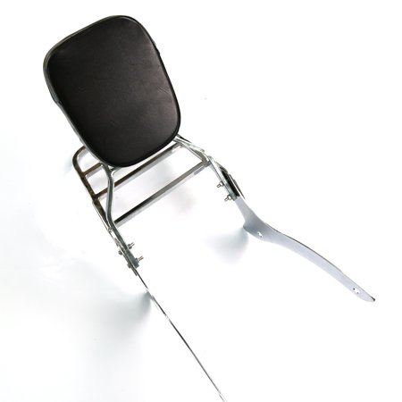 For 00-11 Yamaha V-Star XVS 1100 Classic Backrest Sissy Bar & Luggage Rack