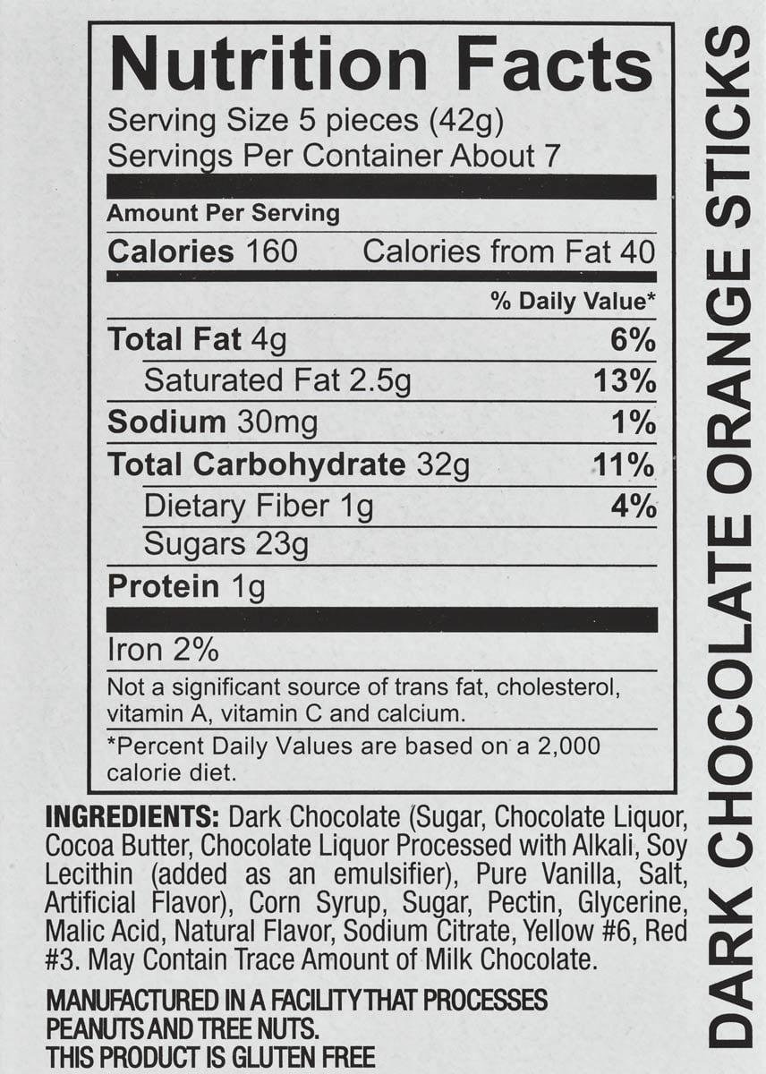 Dove Dark Chocolate Nutrition Facts - Pumpkin Chocolate Chip Cookies