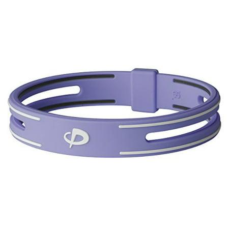 Phiten Liquid - Phiten S-PRO Titanium Bracelet, Purple, 7.5-Inch