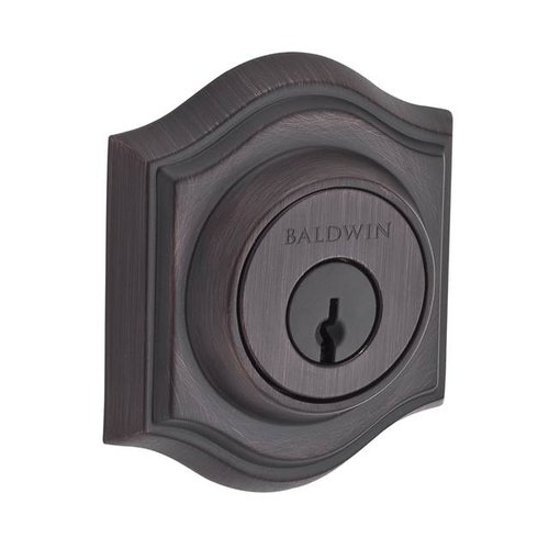 Baldwin Traditional Arch Double Cylinder Deadbolt with Smartkey