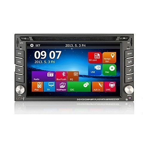 Bosion In-dash Double-din LCD Touch Screen Navigation Car...