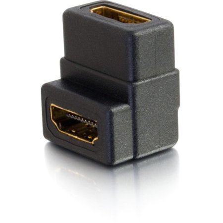 C2g Right Angle Hdmi Female To Female Coupler 18400