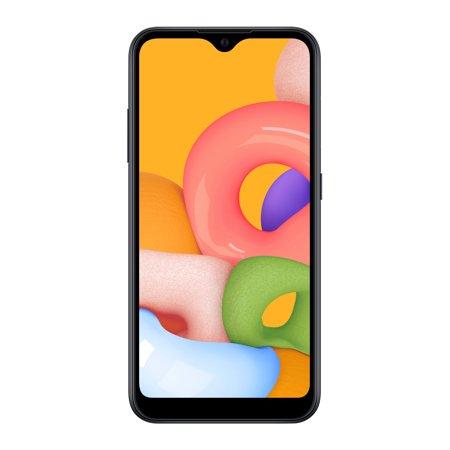 Verizon SAMSUNG Galaxy A01, 16GB - Prepaid Smartphone
