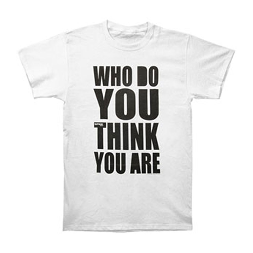 Spice Girls Men's  Who Do You Think You Are T-shirt White