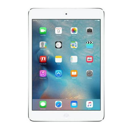 Apple iPad Mini 2 16GB White Wi-Fi A-Graded Refurbished (Ipad Mini White 16gb)